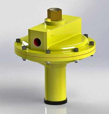 Sigurnosno ispusni (odušni) ventil TIP: 570-MVS