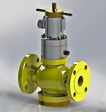 Предхранително запорный отсечный клапан тип: 610-SPV