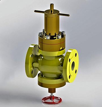Предхранително запорный отсечный клапан тип: 690, 690-K