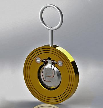 Клапан обратный поворотный тип:720