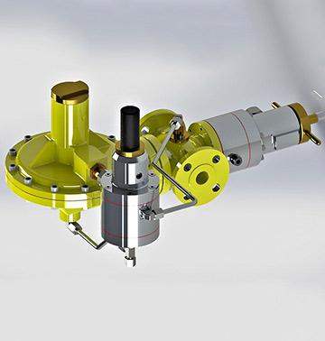 Regulator pritiska gasa TIP: 305-SPV