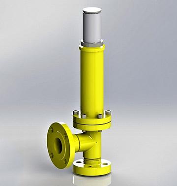 Sigurnosno ispusni (odušni) ventil tip 535